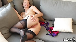 irina lingerie striptease