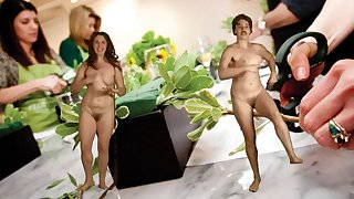 naked dance - art project - bizarre