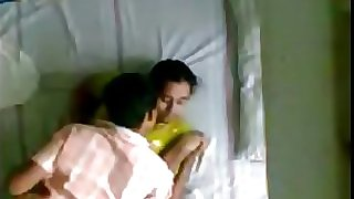 Indian Kerala aunty and husbands junior brother hidden camera